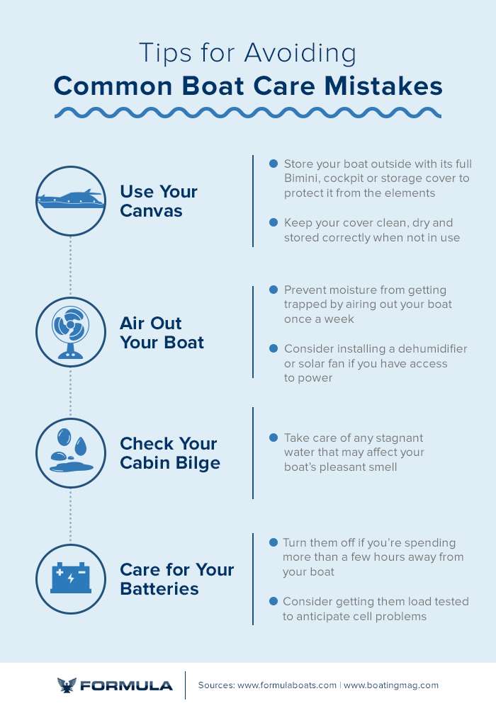 tips for avoiding common boat care mistakes