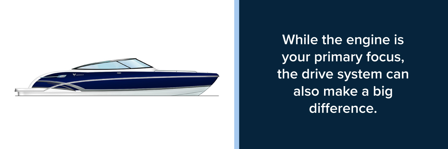 how to choose boat drive system