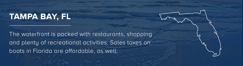 boating sales tax in Tampa Bay