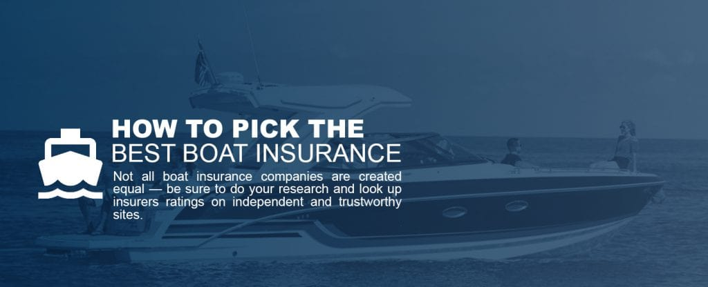 How to Pick the Best Boat Insurance