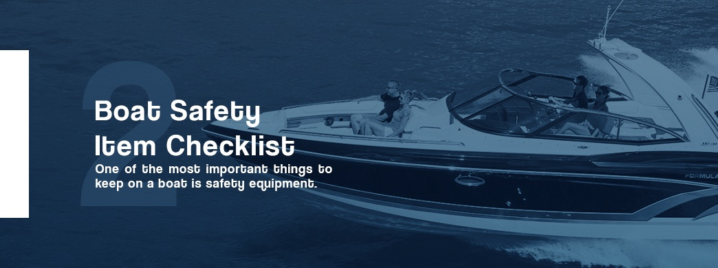 boat safety item checklist