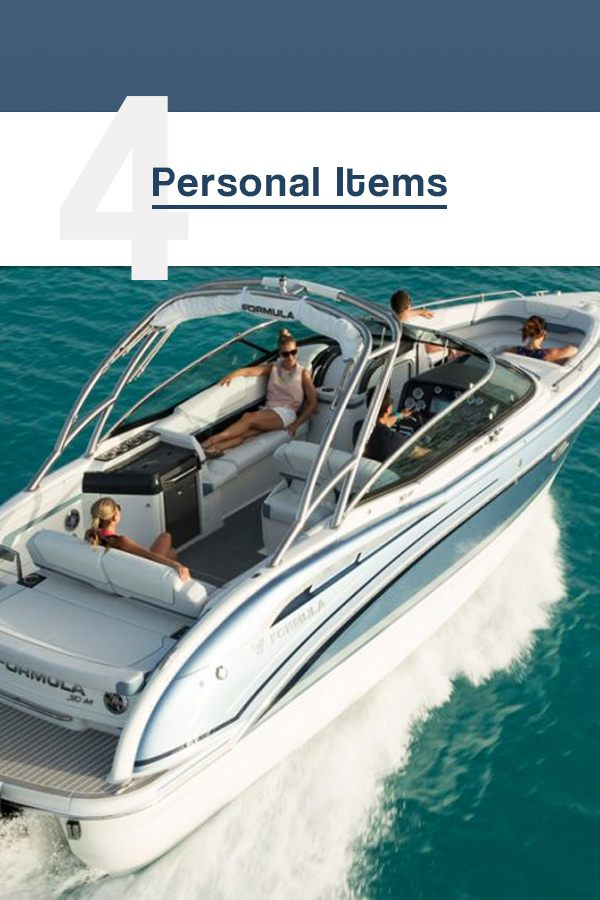 personal items to have on your boat