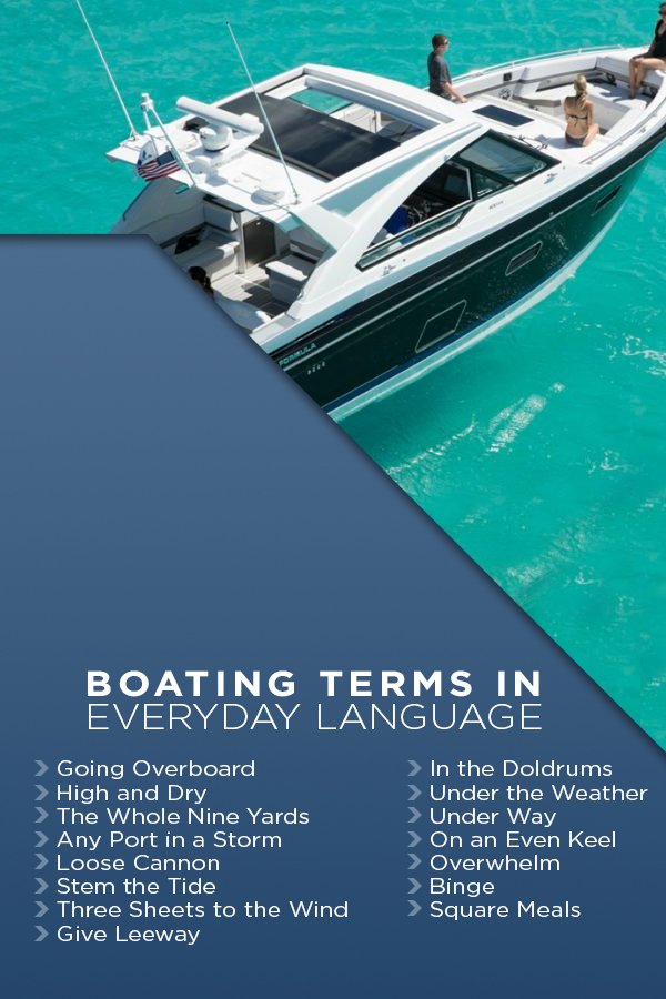 Boating Terms in Everyday Language