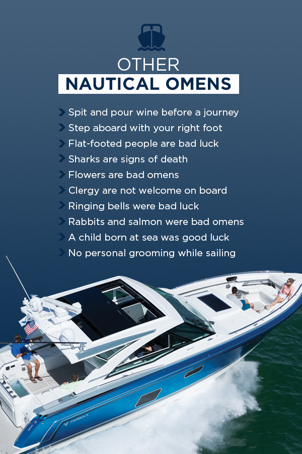 list of nautical omens and superstitions infographic