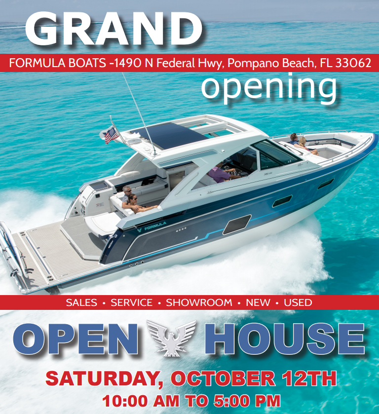pompano showroom grand opening