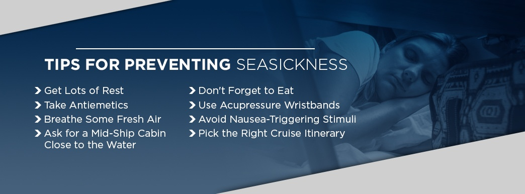 Tips for sea sickness