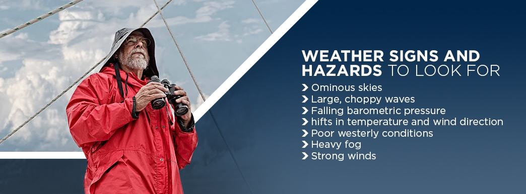 weather hazards to look for while boating