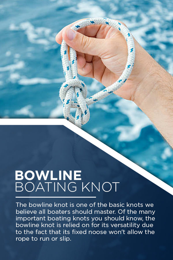 Bowline Boating Knot