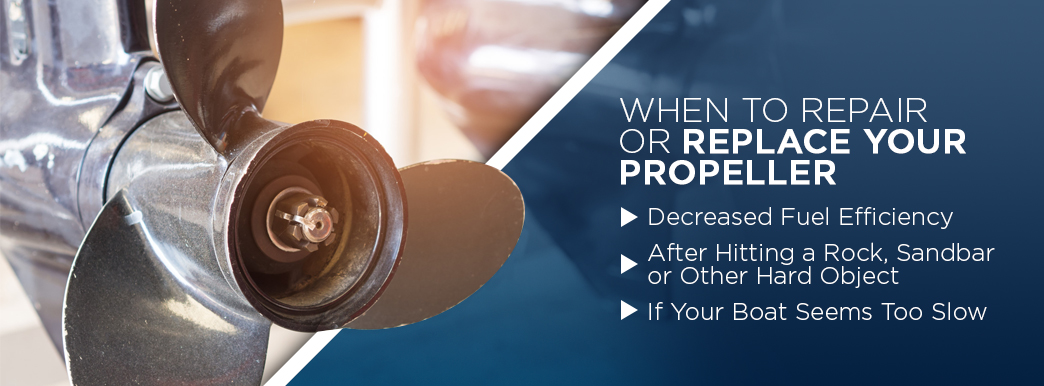 When to repair or replace your propeller