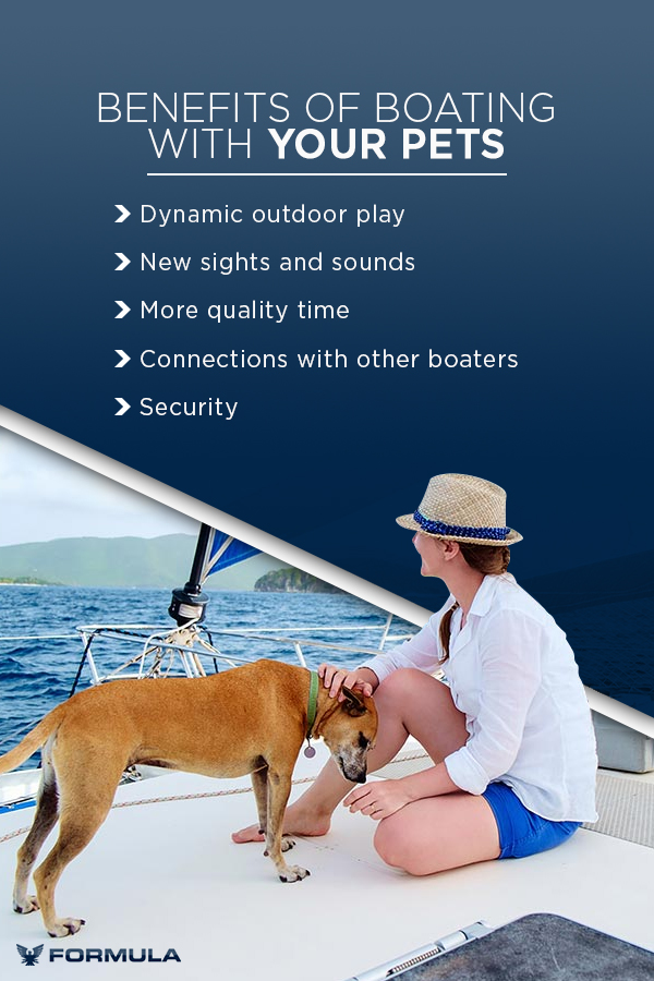 Benefits of boating with your pets