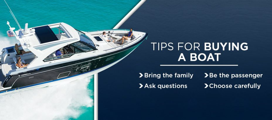 Tips For Buying A Boat