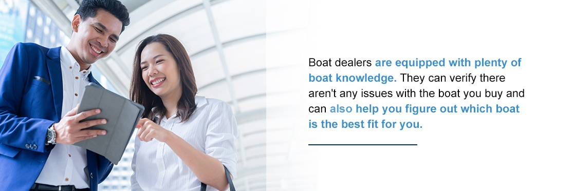 finding a knowledgeable boat dealer