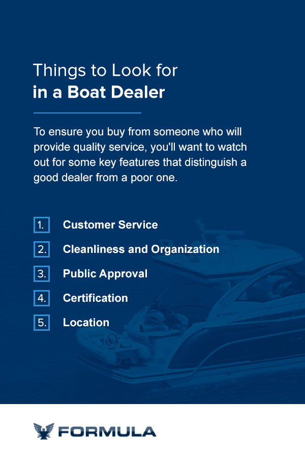 Things to Look for in a Boat Dealer