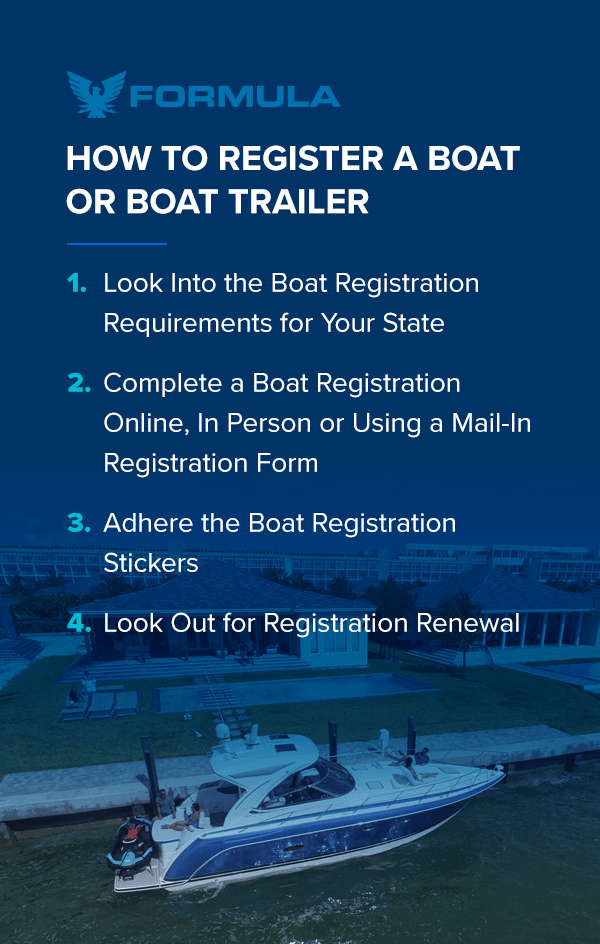 How to Register My New Boat   Formula Boats